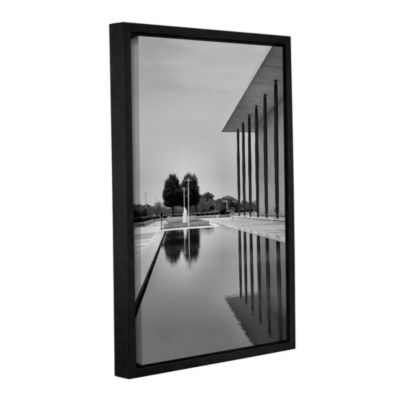 Brushstone The Kennedy Center Pool Gallery WrappedFloater-Framed Canvas Wall Art
