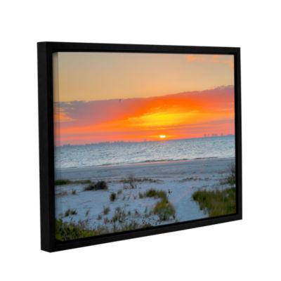 Brushstone Sanibel Sunrise IV Gallery Wrapped Floater-Framed Canvas Wall Art