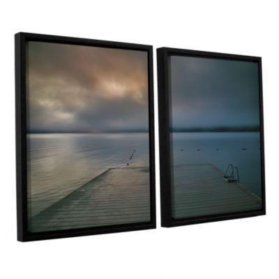 Brushstone Solitude I 2-pc. Floater Framed CanvasWall Art