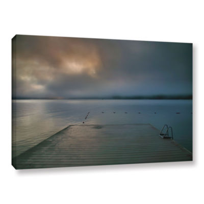 Brushstone Solitude I Gallery Wrapped Canvas WallArt
