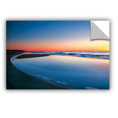 Brushstone Sea and Sand II Removable Wall Decal