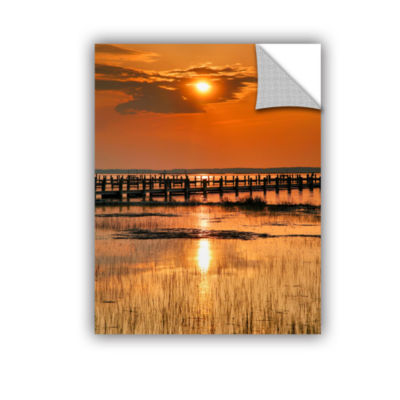 Brushstone Sunset Bay Removable Wall Decal