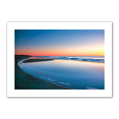 Brushstone Sea and Surf Canvas Poster Wall Art