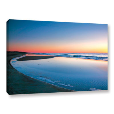 Brushstone Sea and Surf Gallery Wrapped Canvas Wall Art
