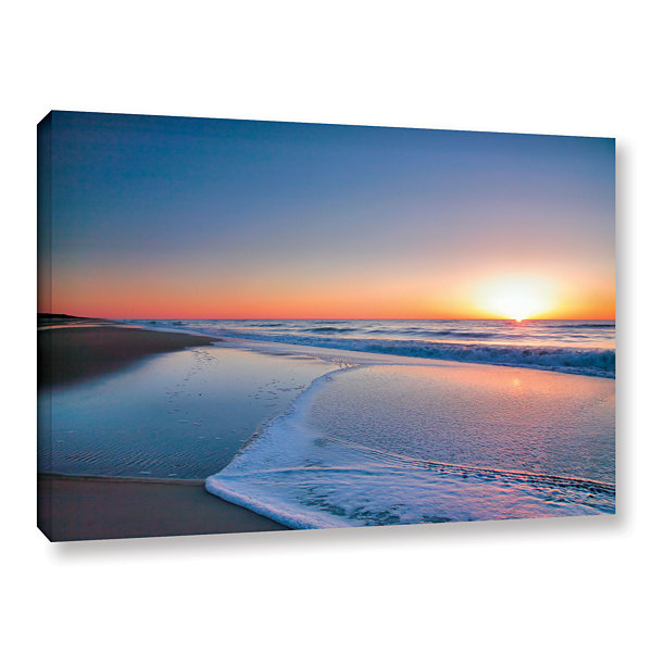 Brushstone Sunrise Over Assateague II Gallery Wrapped Canvas Wall Art