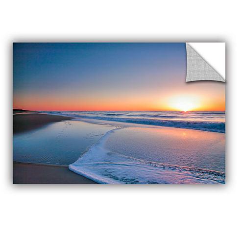 Brushstone Sunrise Over Assateague II Removable Wall Decal