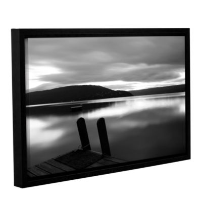 Brushstone Still Waters Gallery Wrapped Floater-Framed Canvas Wall Art