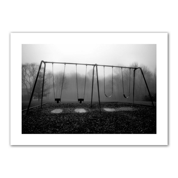 Brushstone Silent Swing Canvas Poster Wall Art
