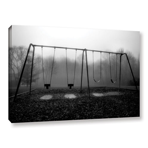 Brushstone Silent Swing Gallery Wrapped Canvas Wall Art