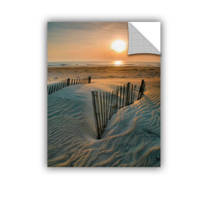Brushstone Sunrise Over Hatteras Removable Wall Decal