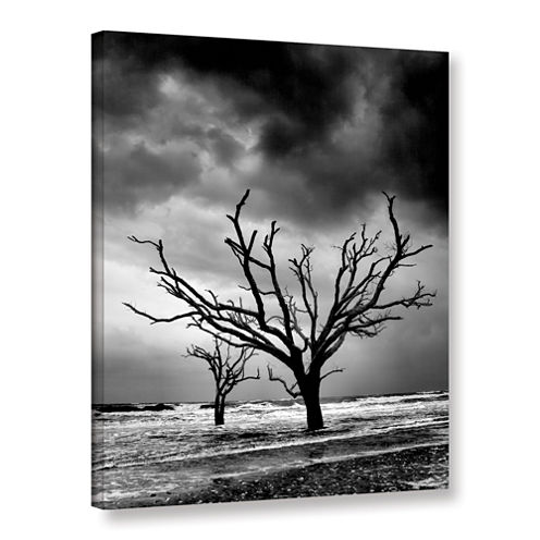 Brushstone Stormy Monday Gallery Wrapped Canvas Wall Art