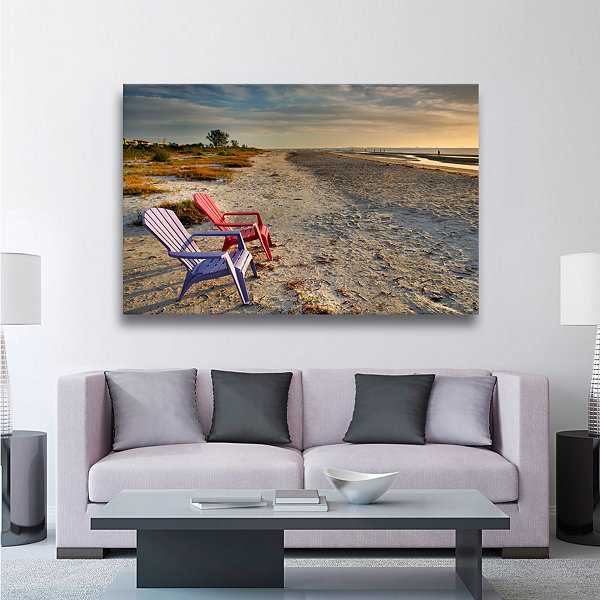 Brushstone Sitting Pretty Gallery Wrapped Canvas Wall Art