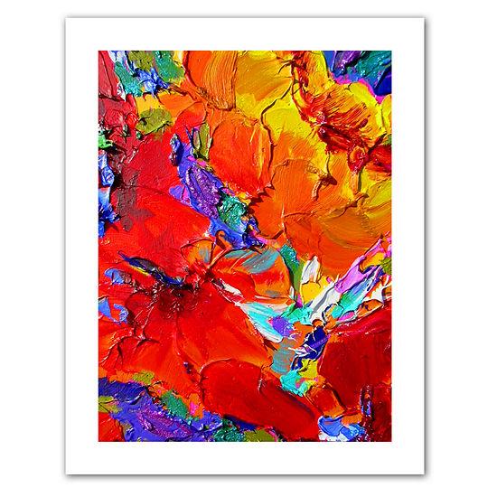 Brushstone Charlits Floral Canvas Wall Art