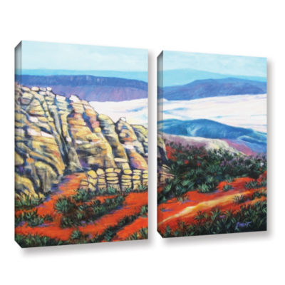 Brushstone Rocky Mountain Living 2-pc. Gallery Wrapped Canvas Wall Art