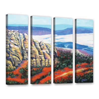 Brushstone Rocky Mountain Living 4-pc. Gallery Wrapped Canvas Wall Art