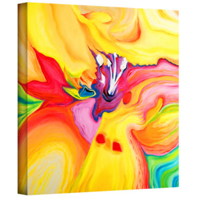 Brushstone Secret Life of Lily Gallery Wrapped Canvas Wall Art