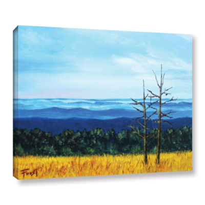 Brushstone Serene Mountain Tops Gallery Wrapped Canvas Wall Art