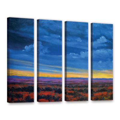 Brushstone Shadow moses 4-pc. Gallery Wrapped Canvas Set