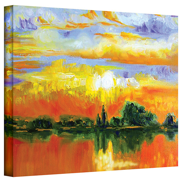 Brushstone The Zen of Italy Gallery Wrapped CanvasWall Art