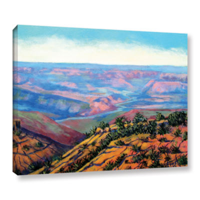 Brushstone Valley View Gallery Wrapped Canvas WallArt