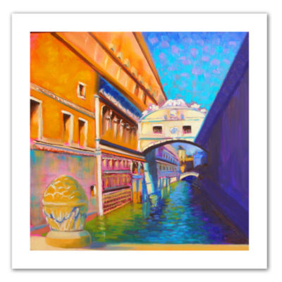 Brushstone Venezia Ponte di Sospiri Canvas Wall Art