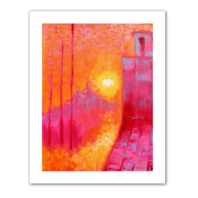 Brushstone Venice in August Canvas Wall Art