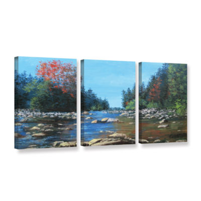 Brushstone Vices 3-pc. Gallery Wrapped Canvas WallArt