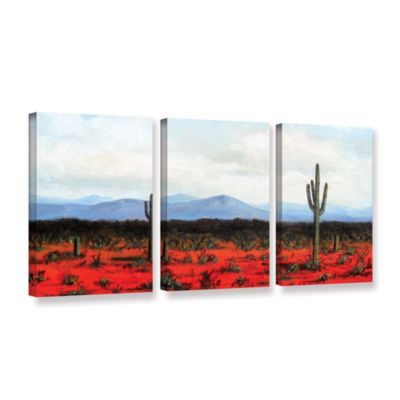 Brushstone Volumes 3-pc. Gallery Wrapped Canvas Set
