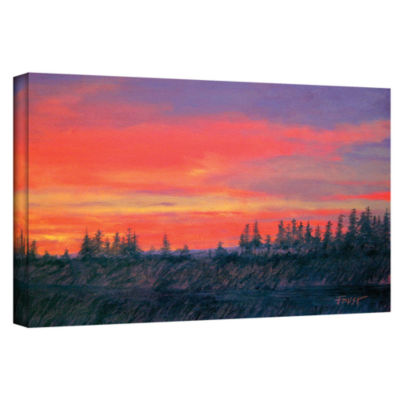 Brushstone Volumes Gallery Wrapped Canvas Wall Art