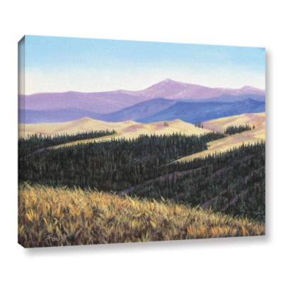 Brushstone Waves of Grain Gallery Wrapped Canvas Wall Art