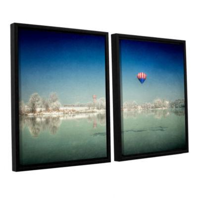 Brushstone Winter Dream 2-pc. Floater Framed Canvas Wall Art