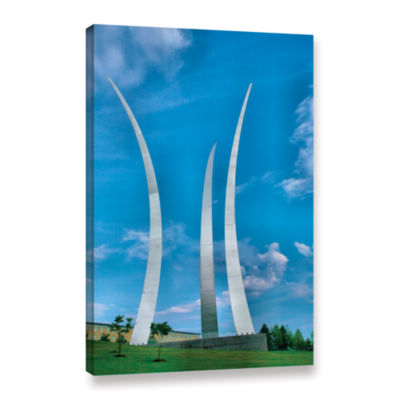 Brushstone Air Force Memorial Gallery Wrapped Canvas Wall Art