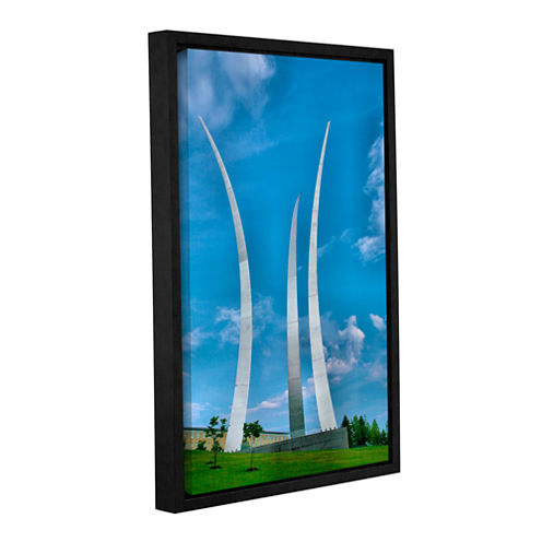 Brushstone Air Force Memorial Gallery Wrapped Floater-Framed Canvas Wall Art