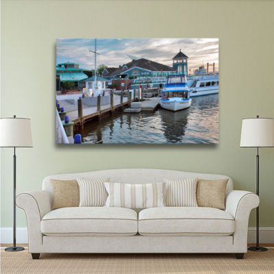 Brushstone Alexandria Waterfront Gallery Wrapped Canvas Wall Art