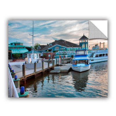 Brushstone Alexandria Waterfront Removable Wall Decal
