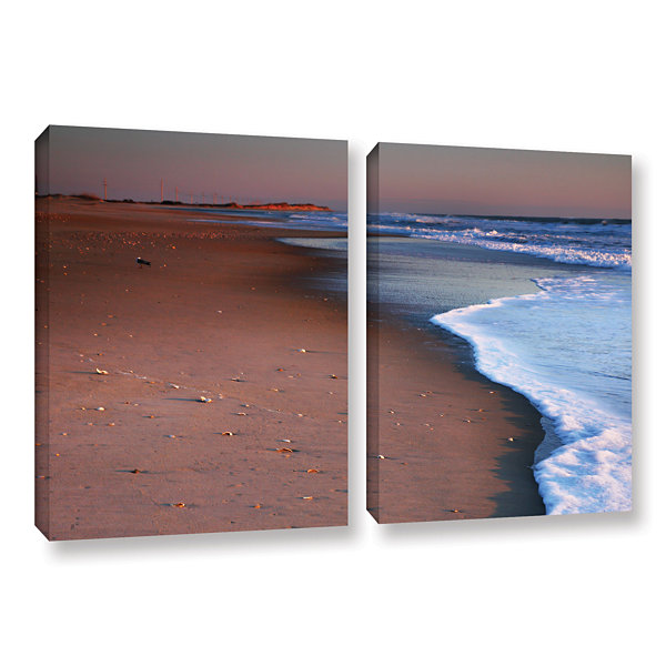 Brushstone Alone not Lonely 2-pc. Gallery WrappedCanvas Wall Art