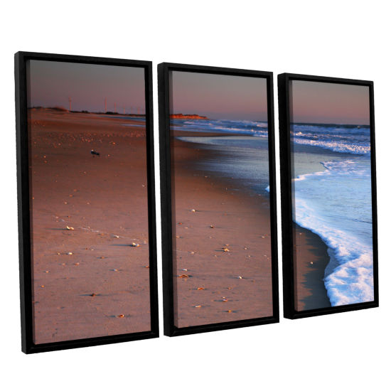 Brushstone Alone not Lonely 3-pc. Floater Framed Canvas Wall Art