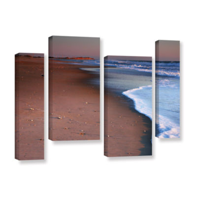 Brushstone Alone not Lonely 4-pc. Gallery WrappedStaggered Canvas Wall Art