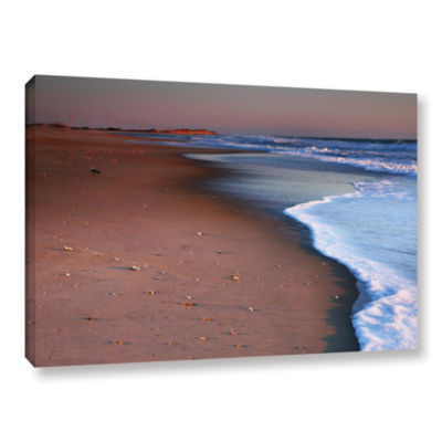 Brushstone Alone not Lonely Gallery Wrapped CanvasWall Art