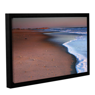 Brushstone Alone not Lonely Gallery Wrapped Floater-Framed Canvas Wall Art