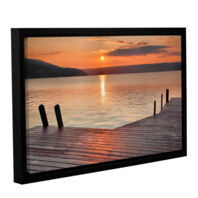 Brushstone Another Kekua Sunrise Gallery Wrapped Floater-Framed Canvas Wall Art