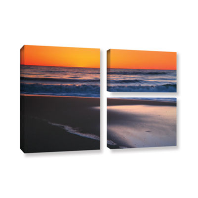 Brushstone As Dawn Approaches 3-pc. Flag Gallery Wrapped Canvas Wall Art