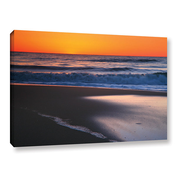 Brushstone As Dawn Approaches Gallery Wrapped Canvas Wall Art