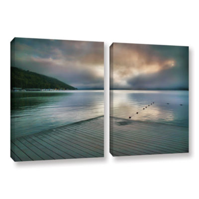 Brushstone At Ease 2-pc. Gallery Wrapped Canvas Wall Art