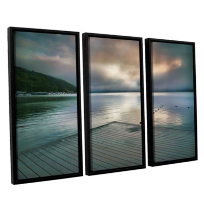 Brushstone At Ease 3-pc. Floater Framed Canvas Wall Art