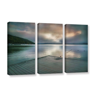 Brushstone At Ease 3-pc. Gallery Wrapped Canvas Wall Art