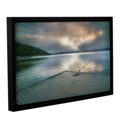 Brushstone At Ease Gallery Wrapped Floater-FramedCanvas Wall Art