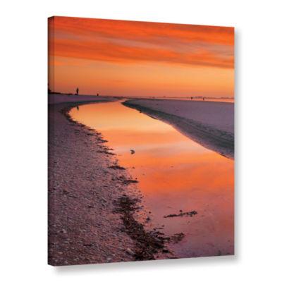 Brushstone Captiva Sunset Gallery Wrapped Canvas Wall Art