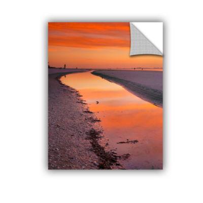 Brushstone Captiva Sunset Removable Wall Decal