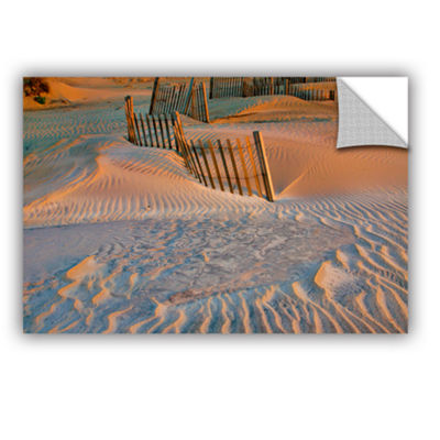 Brushstone Dune Patterns II Removable Wall Decal